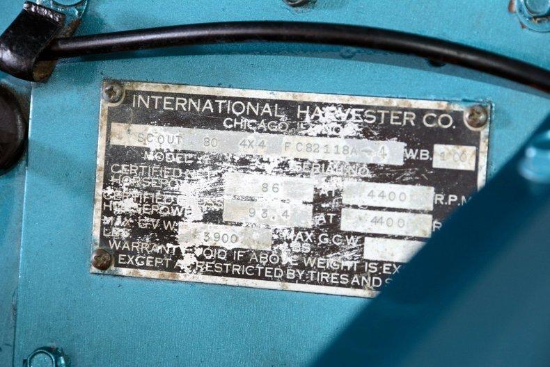 1964 International 110