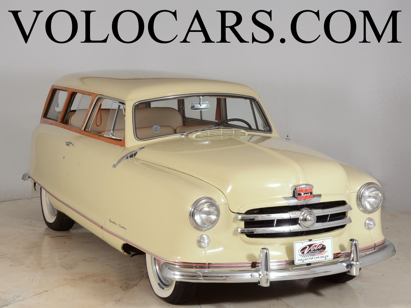 1950 nash rambler cust tin woody