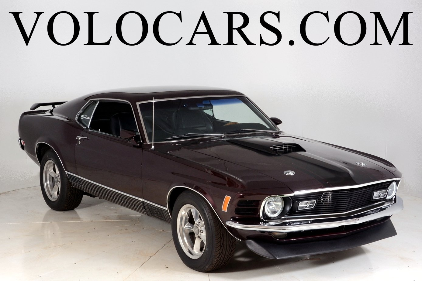 1970 ford mustang mach 1 pro touring