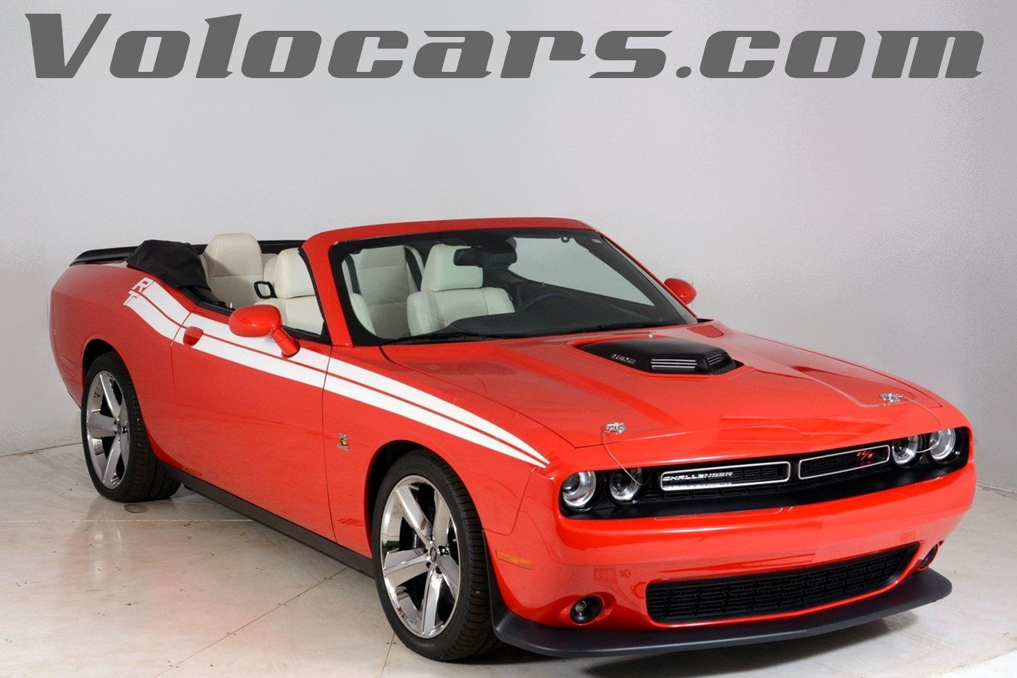 Dodge Challenger Convertible >> 2015 Dodge Challenger Volo Auto Museum