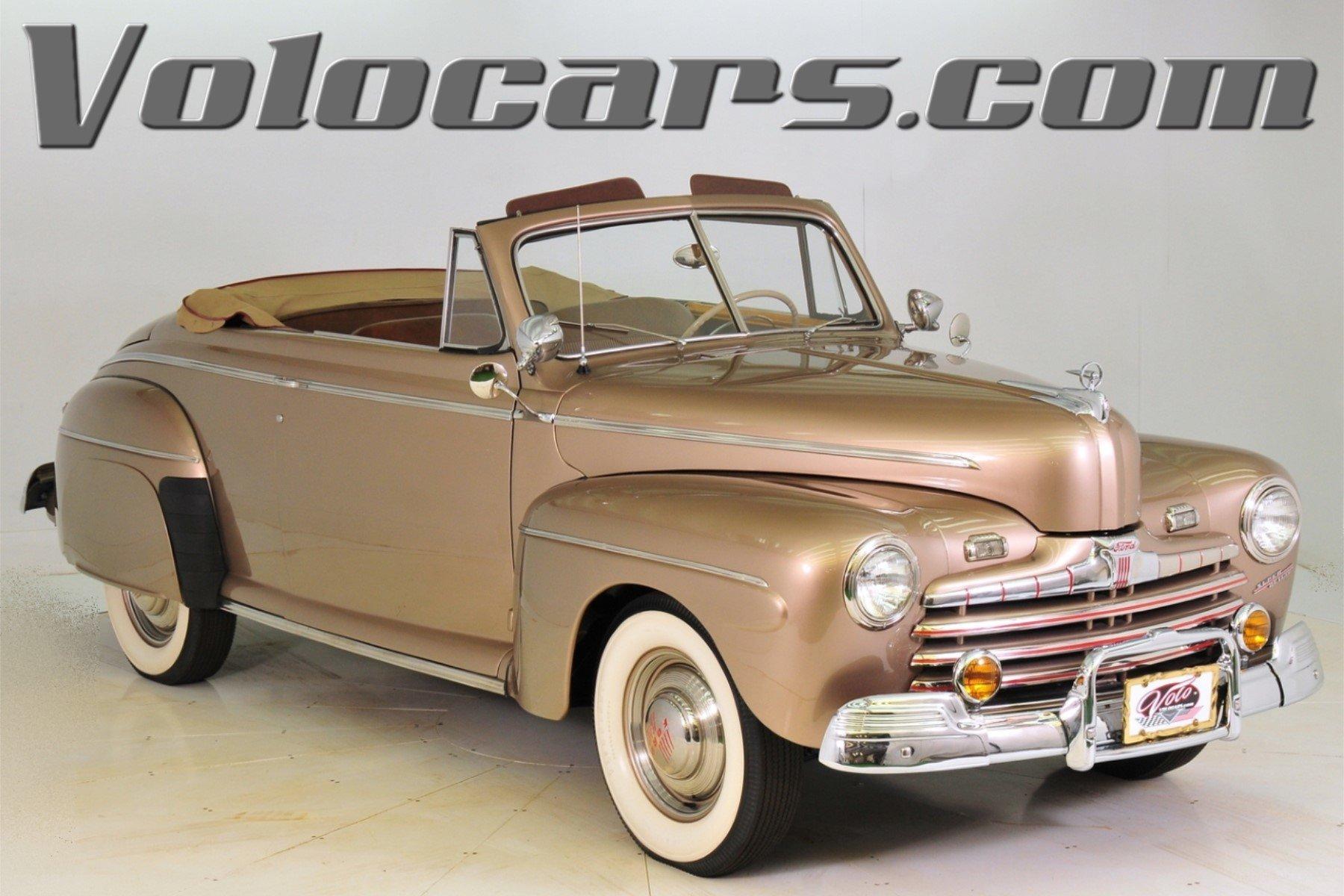 1946 Ford Super Deluxe Volo Auto Museum