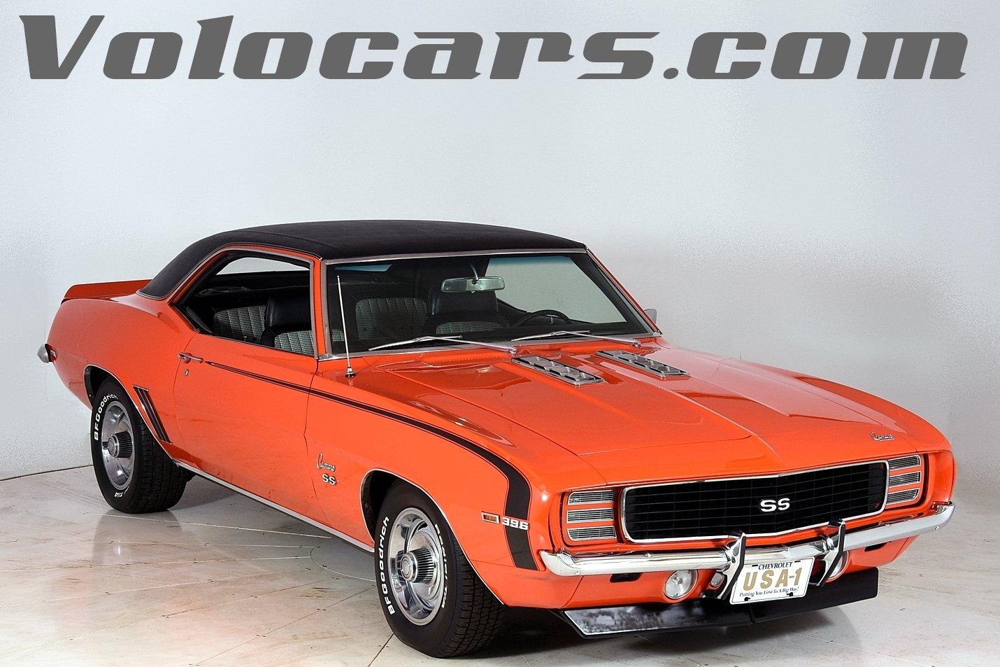 1969 chevrolet camaro rs ss 396