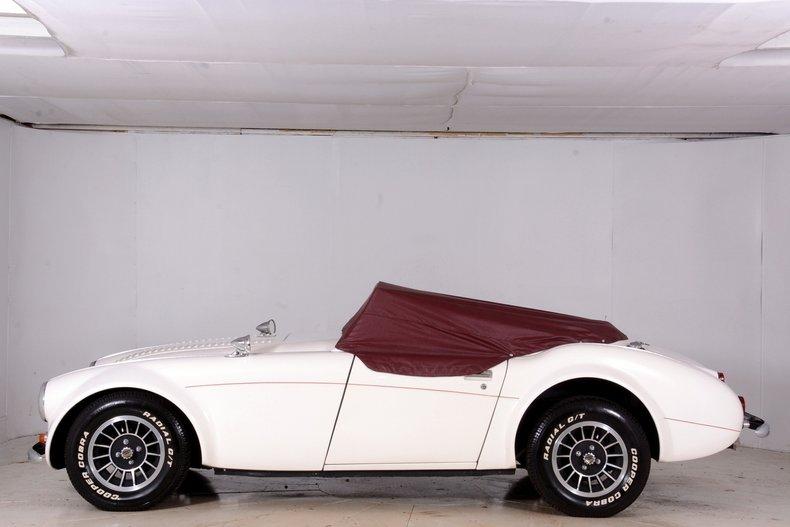 1962 Austin Healey Convertible
