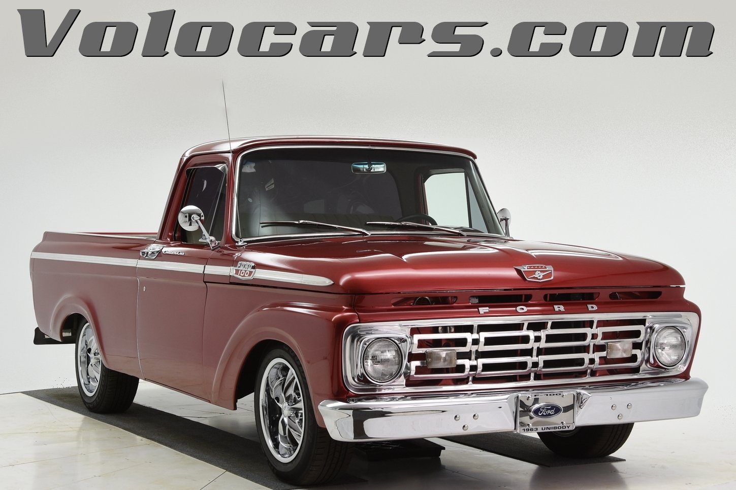 1963 ford f100 custom cab