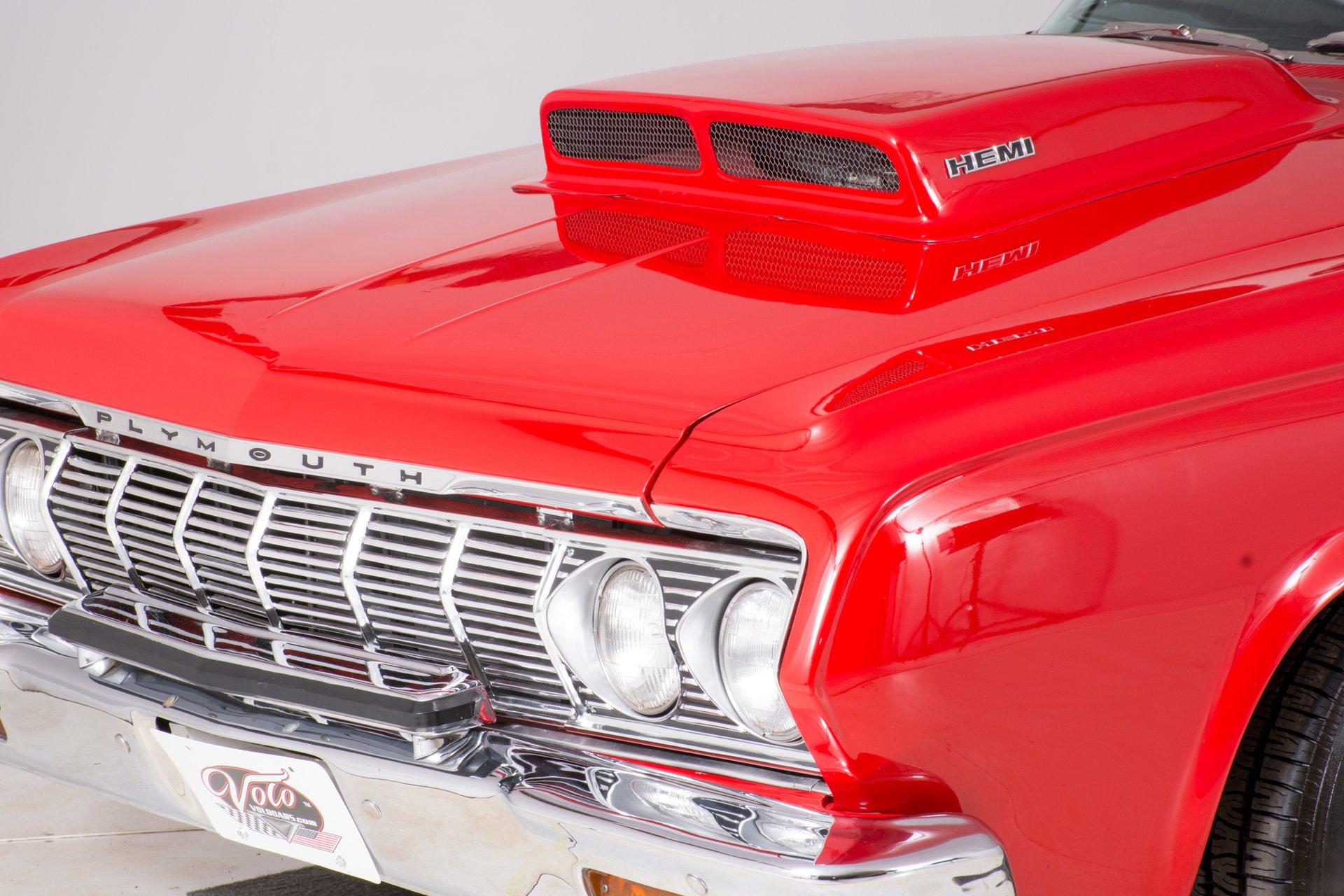 1964 Plymouth Sport Fury Volo Auto Museum 69 Radiator 23