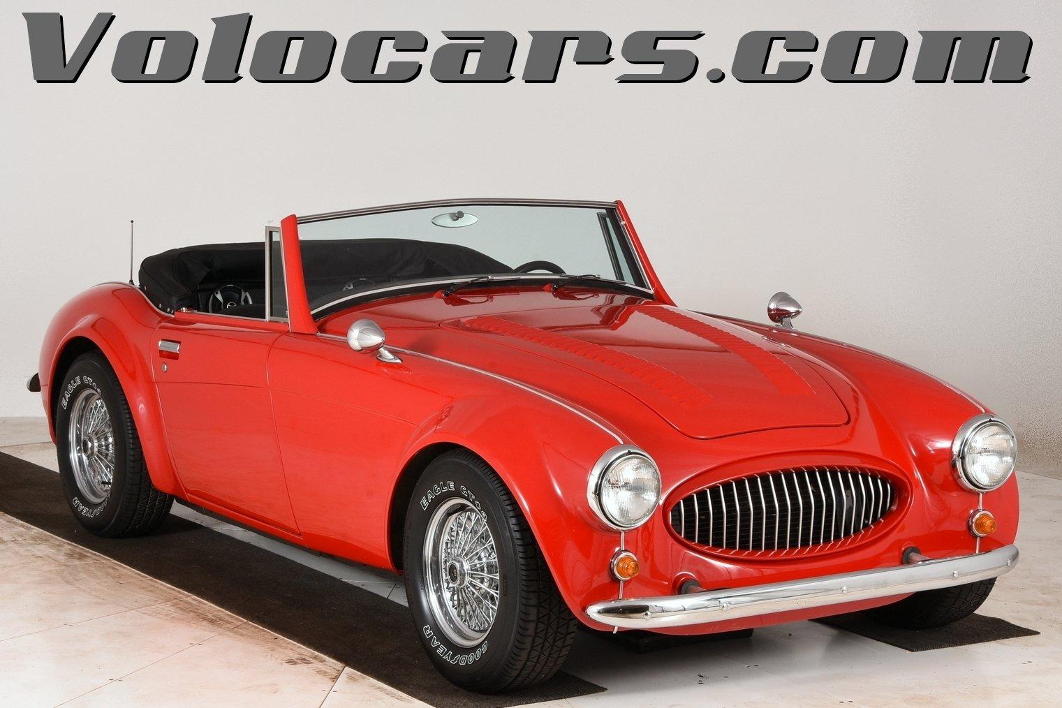1964 austin healey 3000 replica