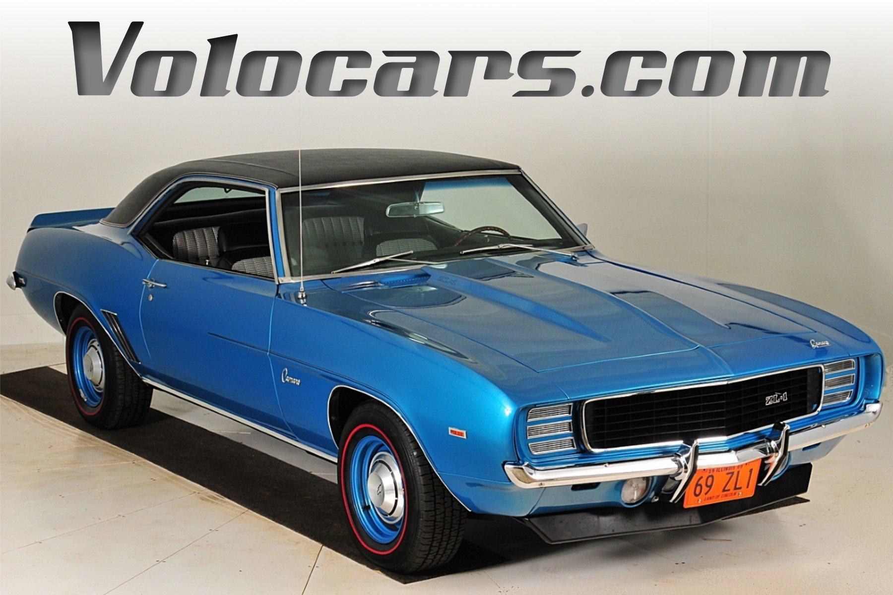 1969 chevrolet camaro zl 1