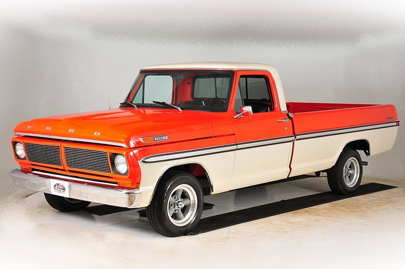 1971 Ford F100 12