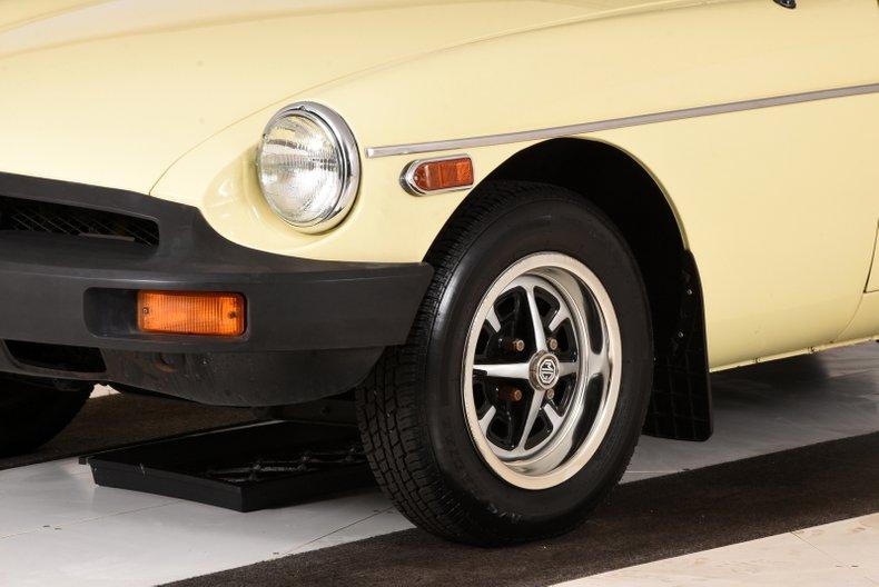 1980 MG B