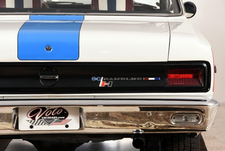 1969 AMC SC/Rambler 65
