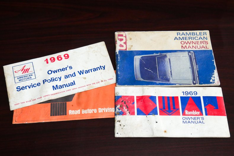1969 AMC SC/Rambler 66