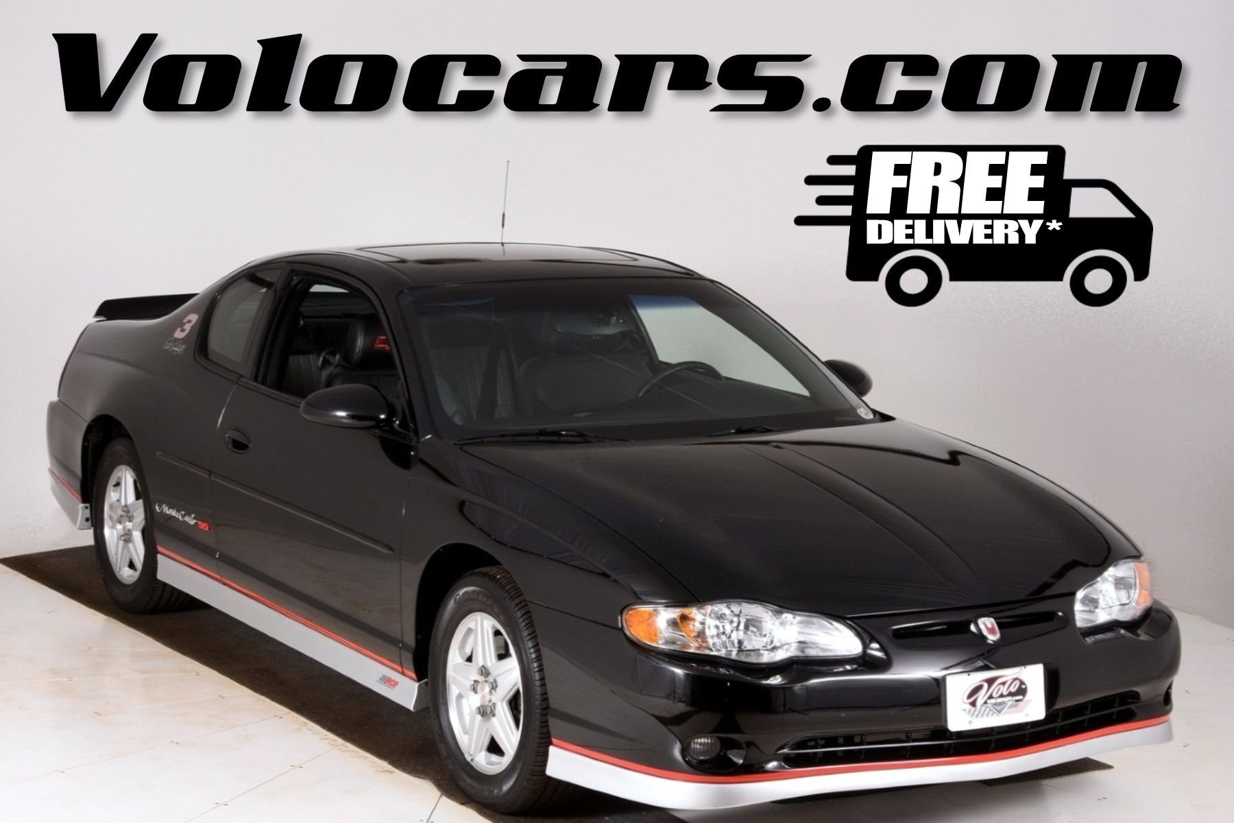 2002 chevrolet monte carlo ss earnhardt edition