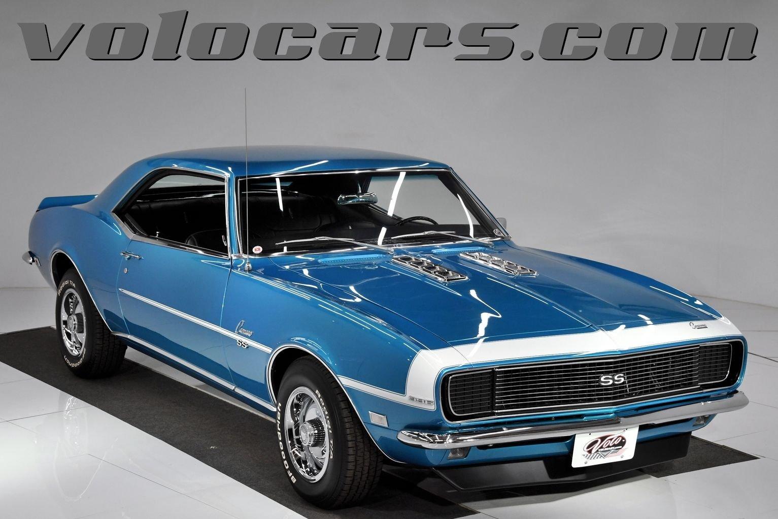 1968 chevrolet camaro rs ss 396 l 78