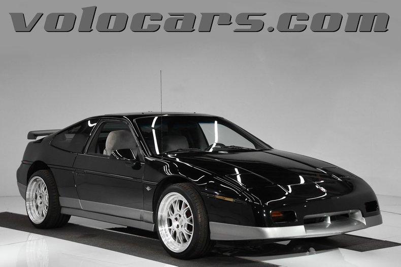 1986 Pontiac Fiero For Sale