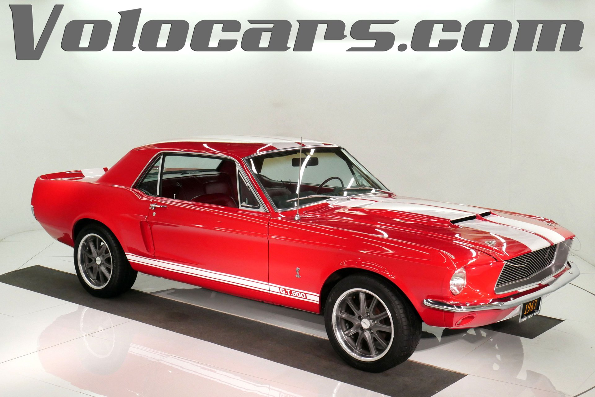 1967 ford mustang shelby tribute
