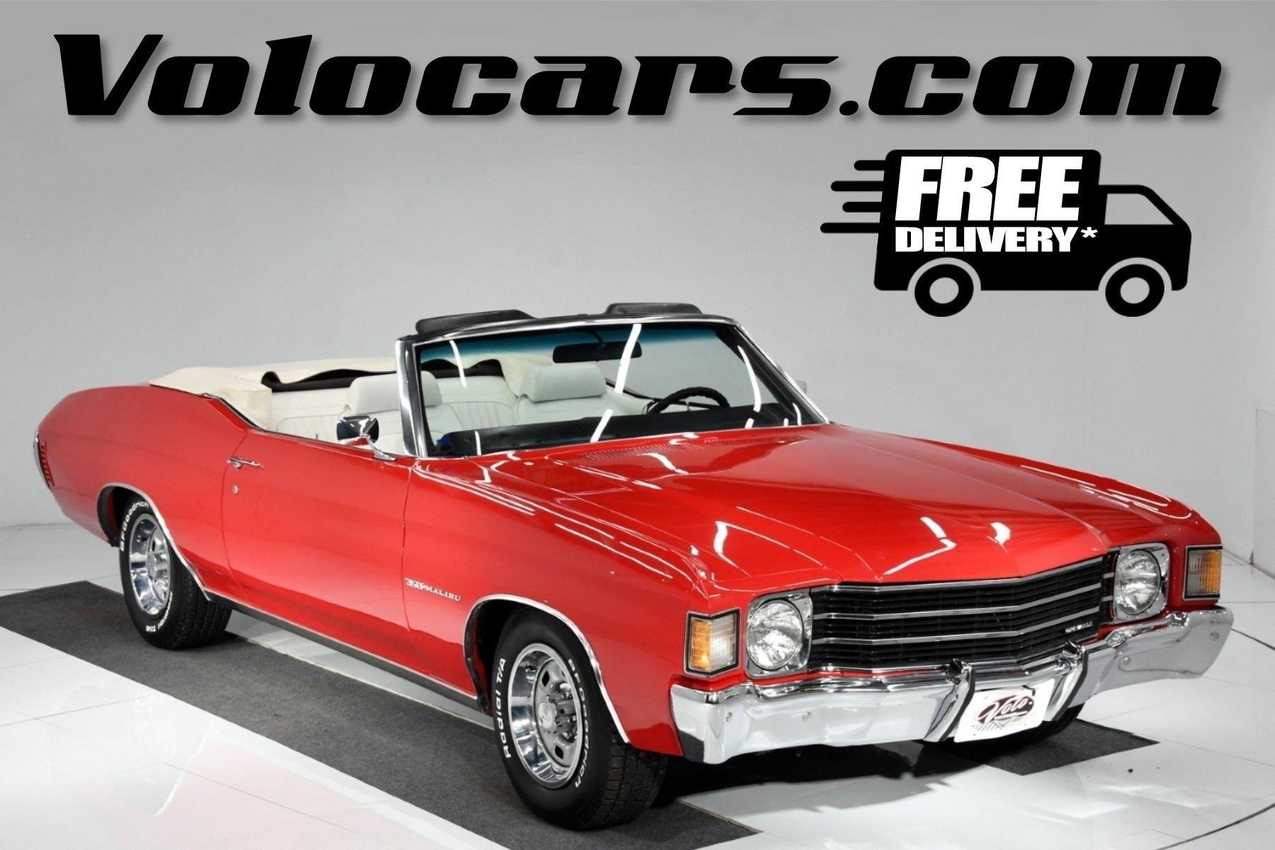 1972 chevrolet chevelle malibu 350