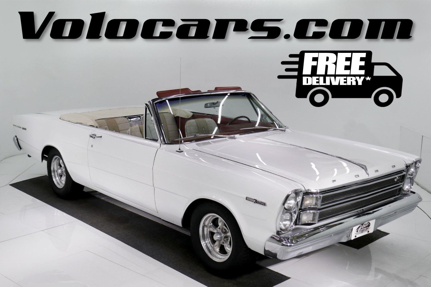 1966 ford galaxie 500 q code