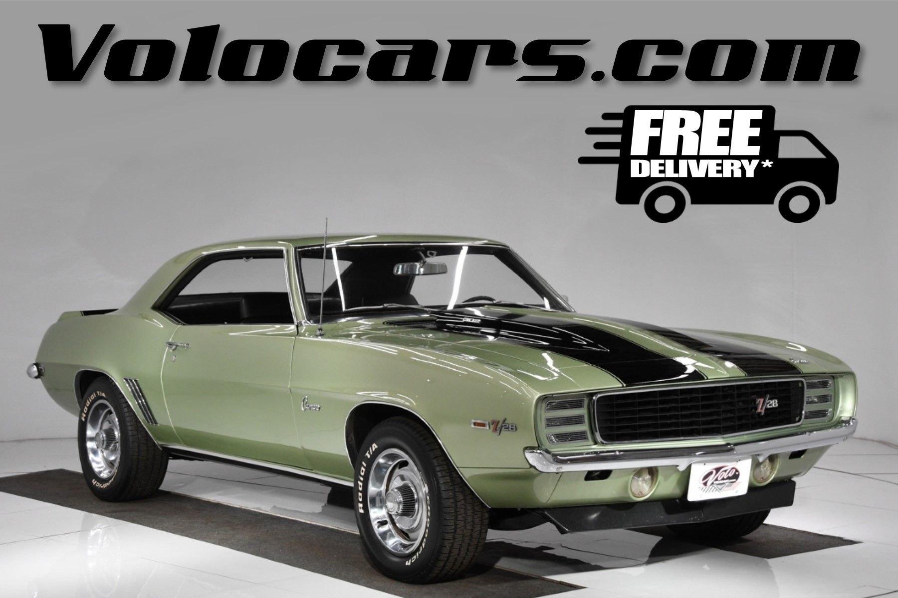 1969 chevrolet camaro z 28 rs
