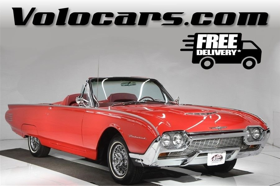 1961 ford thunderbird roadster