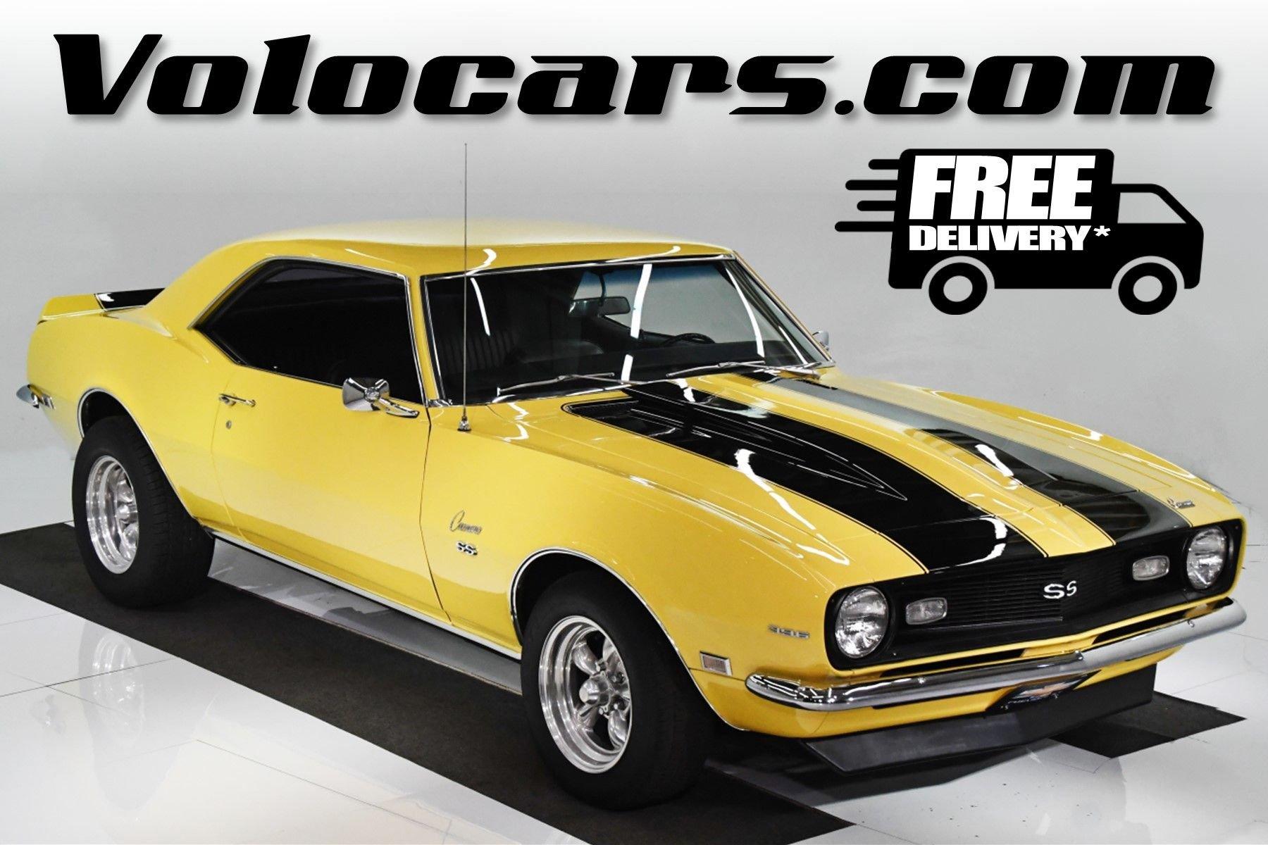 1968 chevrolet camaro ss 396