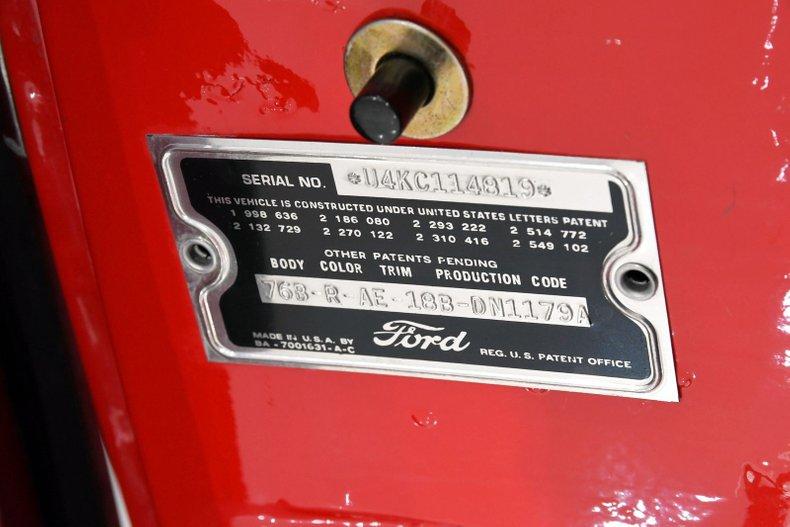 1954 Ford Sunliner