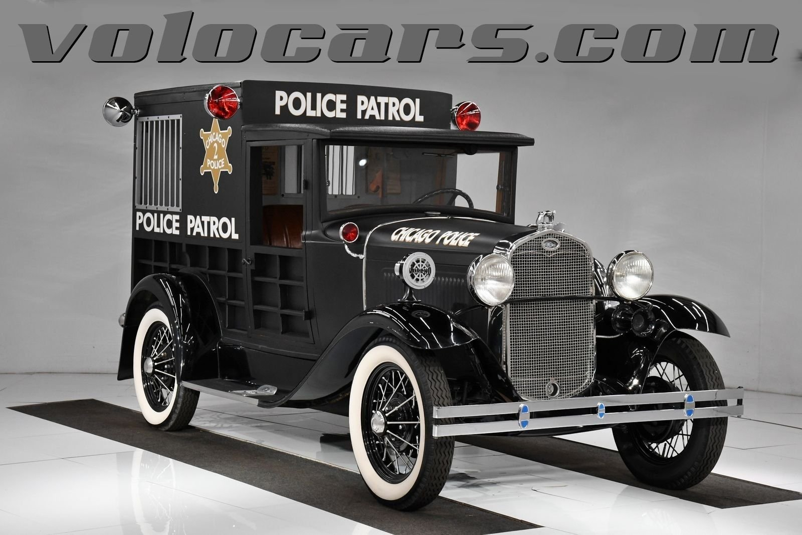 1931 ford model a police paddy wagon