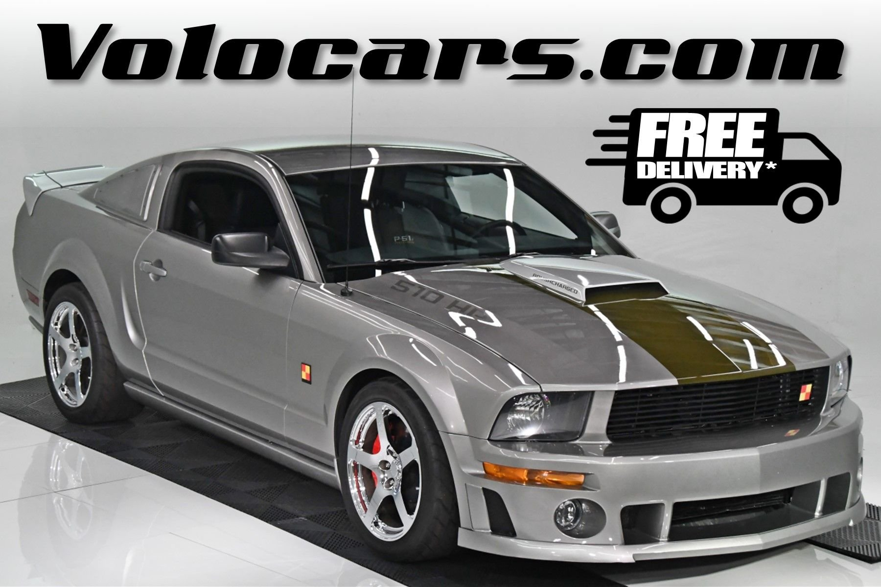 2008 ford mustang p 51 roush