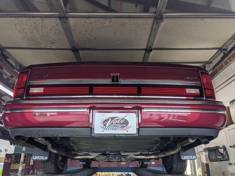 1993 Lincoln Town Car