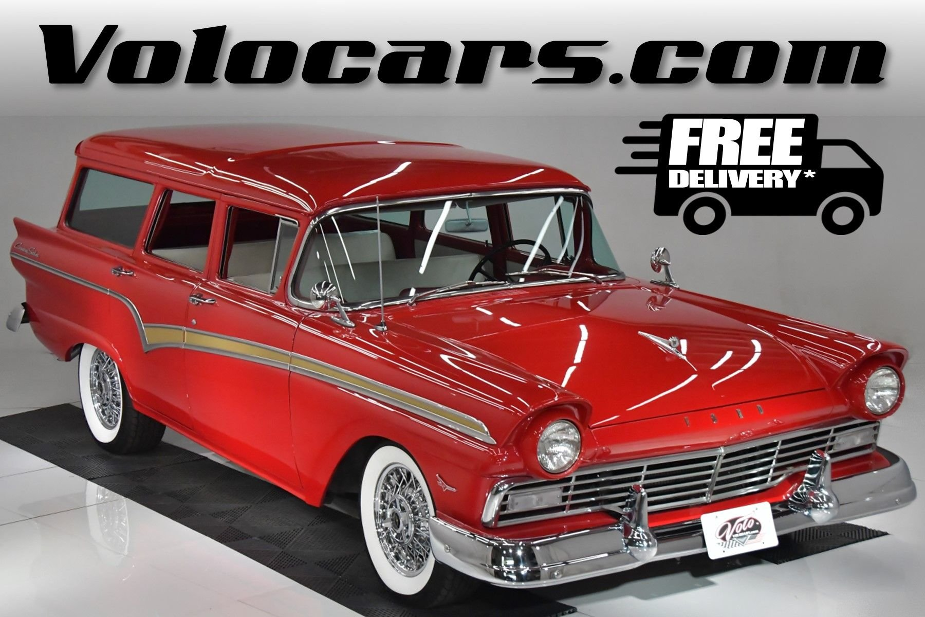 1957 ford country sedan wagon