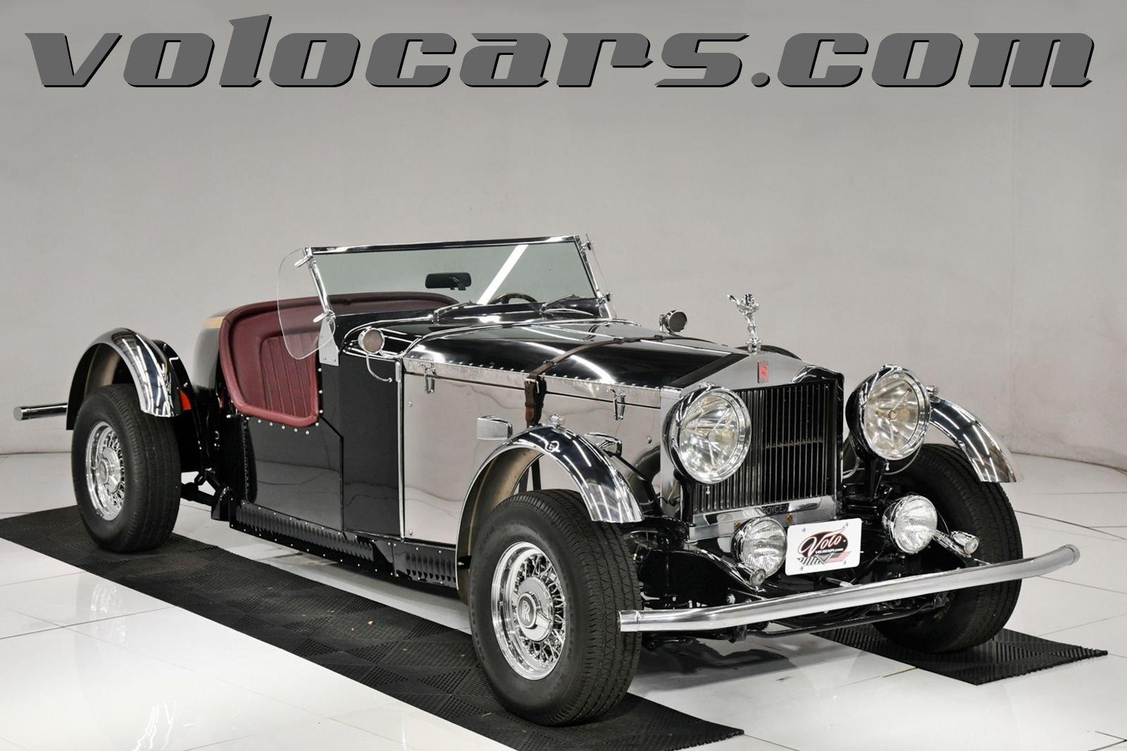 1937 rolls royce speedster tribute