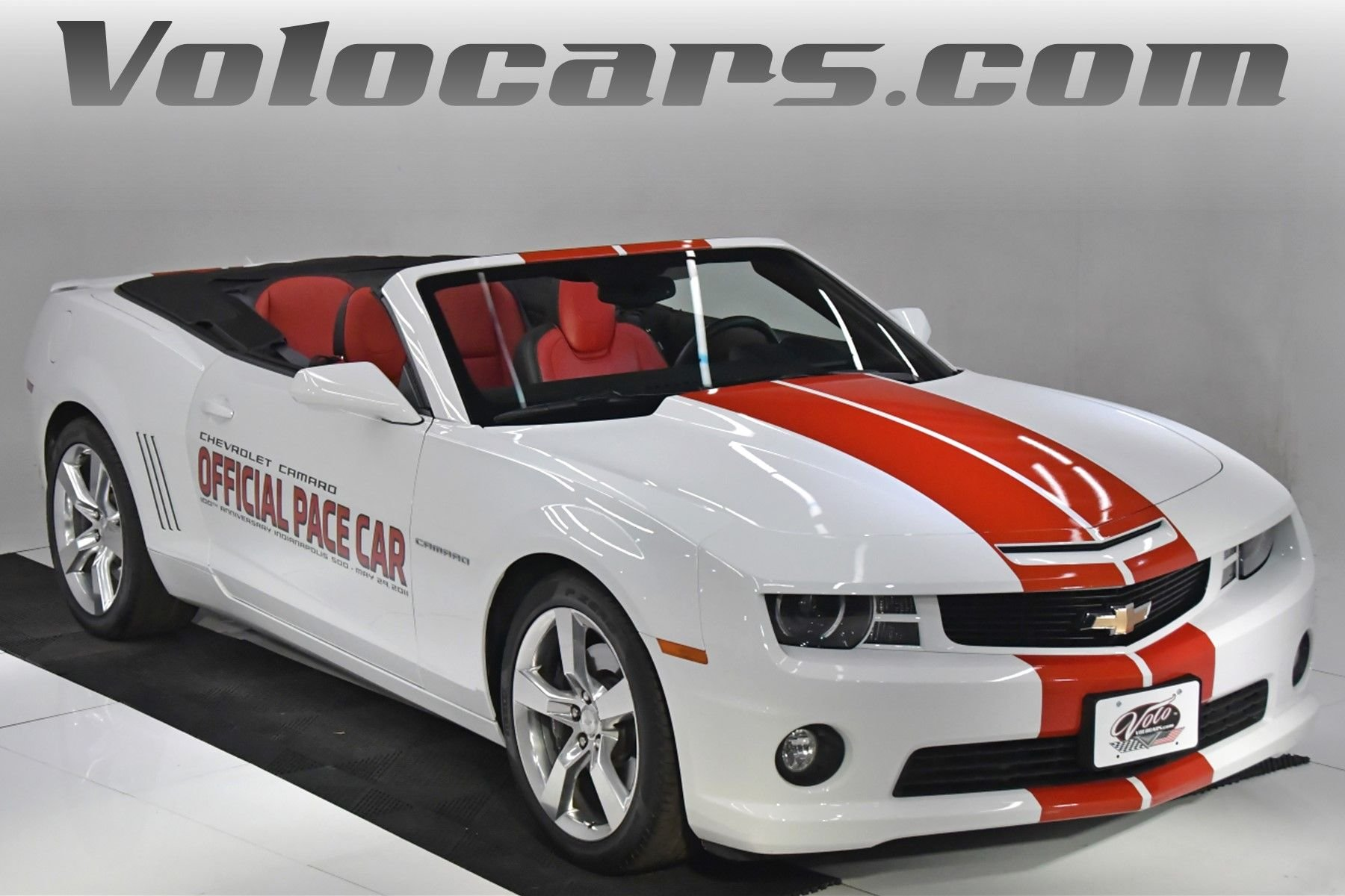 2011 chevrolet camaro 2ss rs pace car