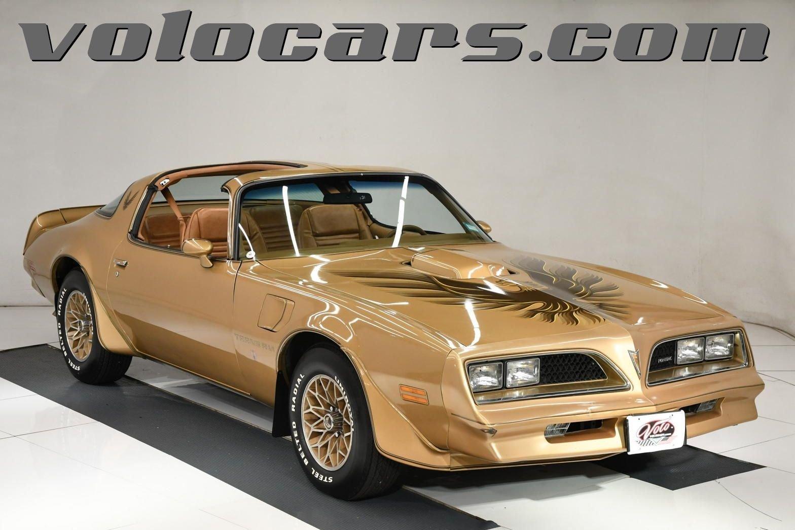 1978 pontiac trans am special gold edition