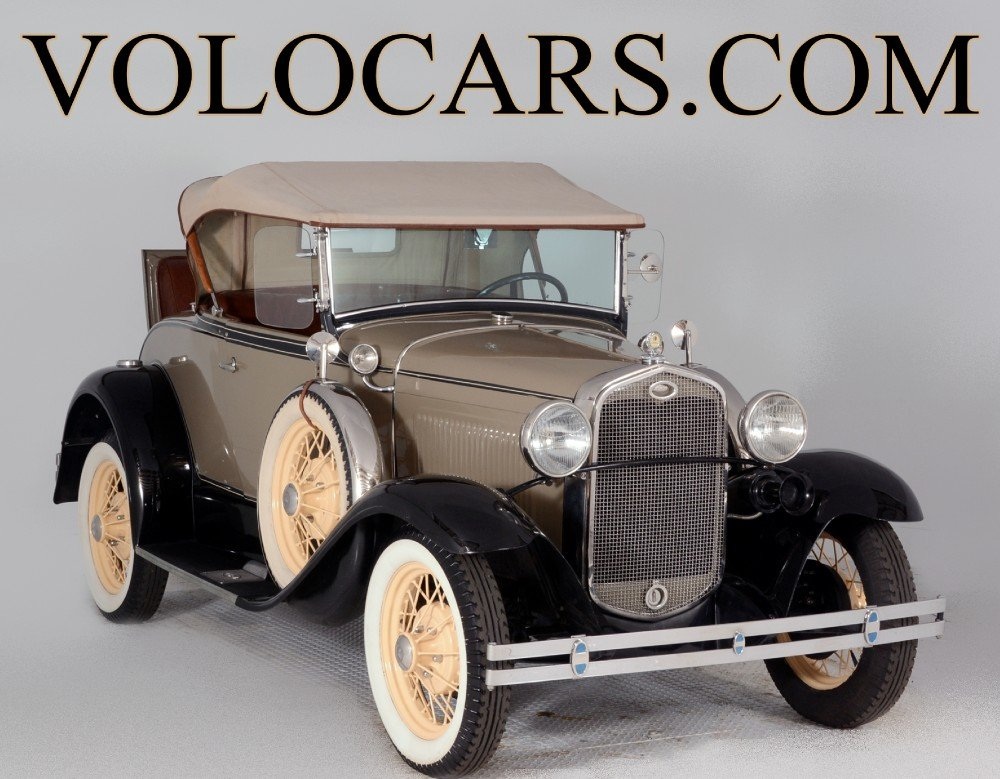 1931 ford model a deluxe