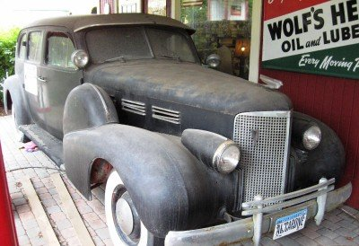1938 cadillac 9 passenger limo