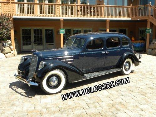 1937 lincoln series k
