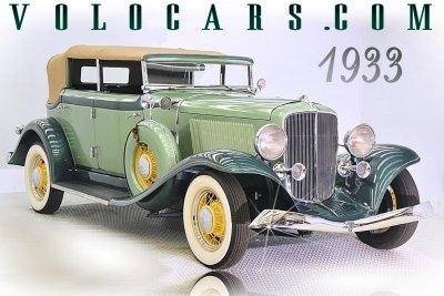 1933 Auburn Salon 8 105