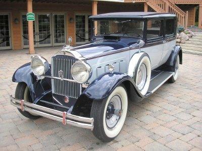 1930 packard 740