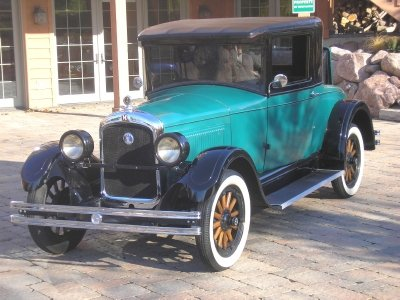1927 hupmobile series a