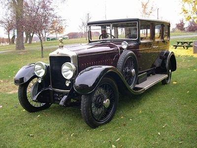 1925 minerva type af 7 passenger limo