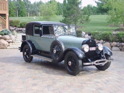 1925 lincoln town car