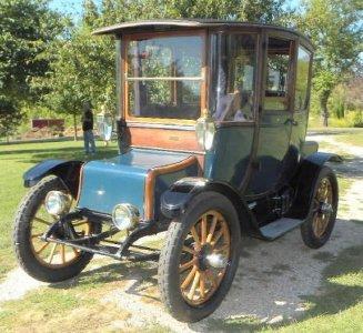 1912 Detroit Electric Pre 1950