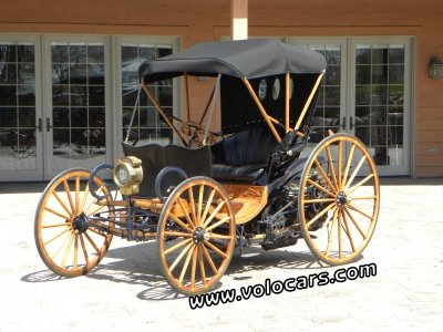 Star model c horseless carriage