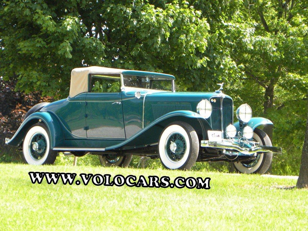 1931 auburn 8 98a convertible coupe