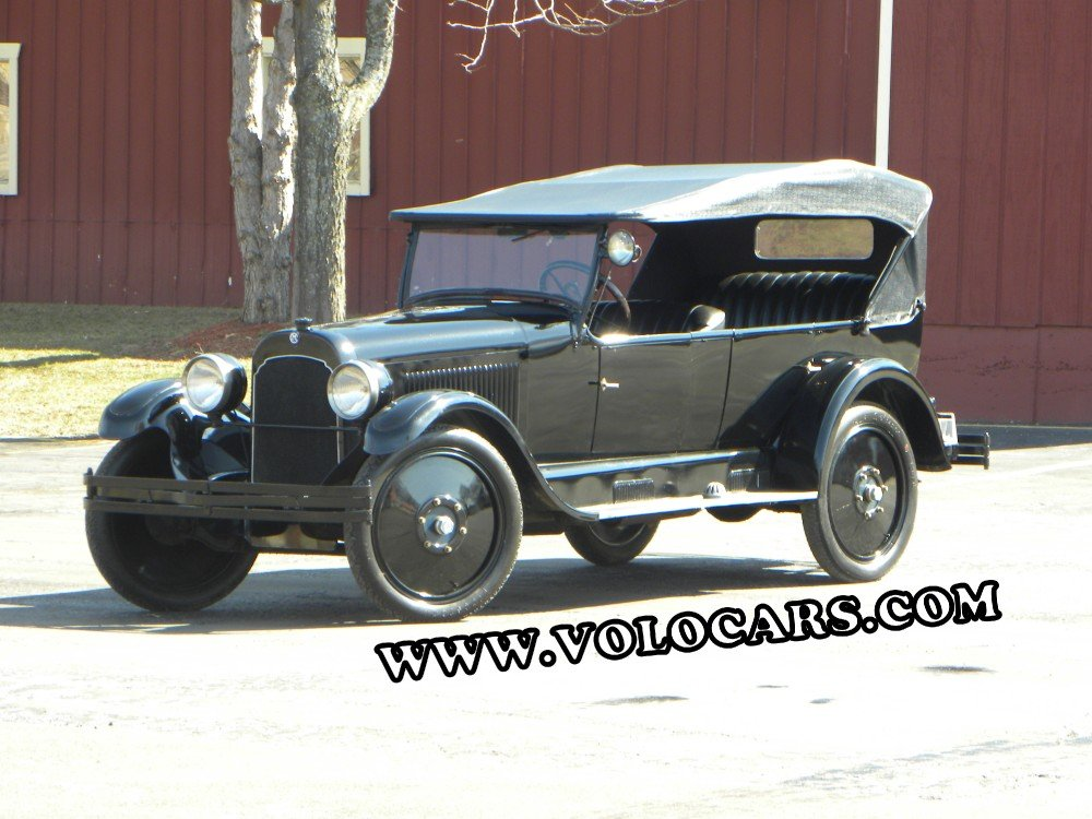 1922 chalmers six 30 7 passenger touring