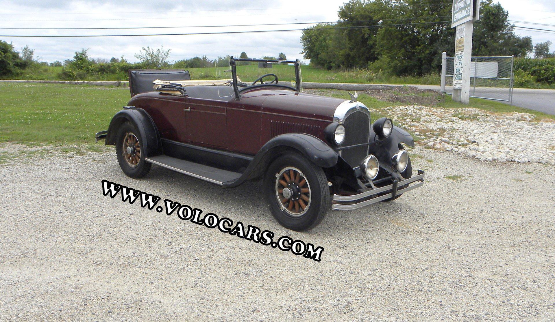 1928 chrysler 62 roadster