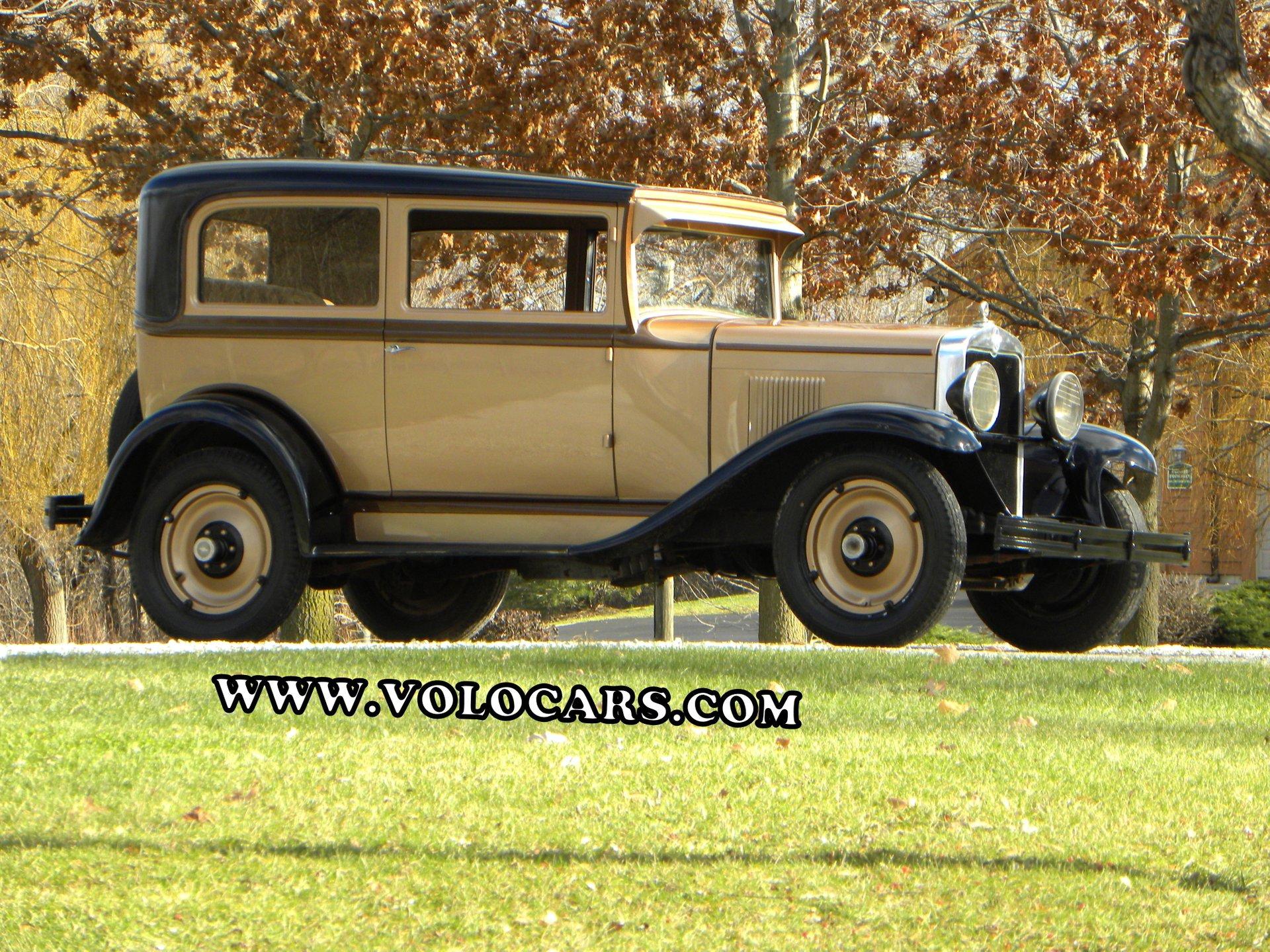 1930 chevrolet universal coach