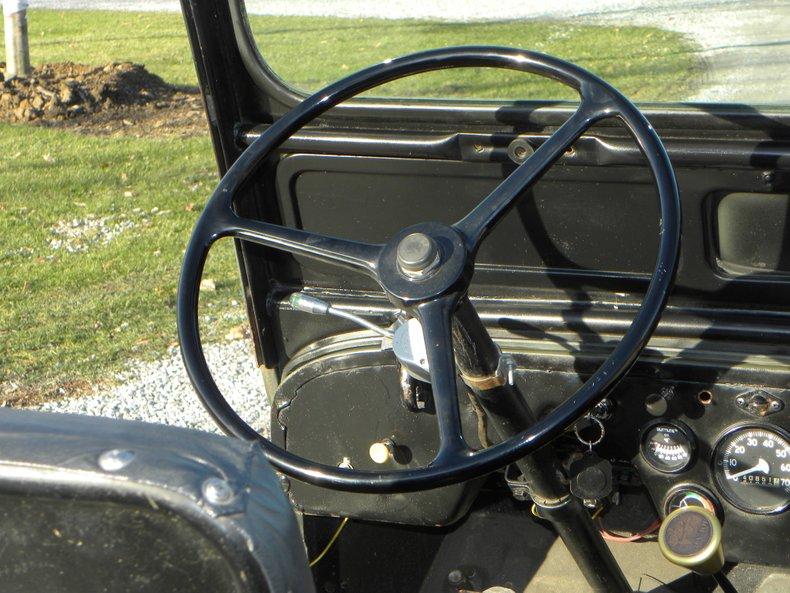 1952 Willys CJ3A