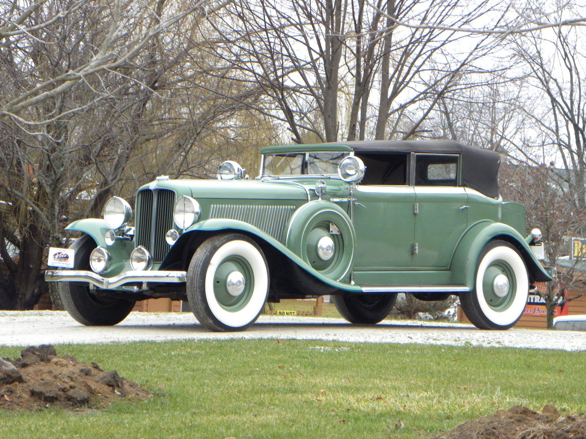 1933 auburn 12 161a custom phaeton
