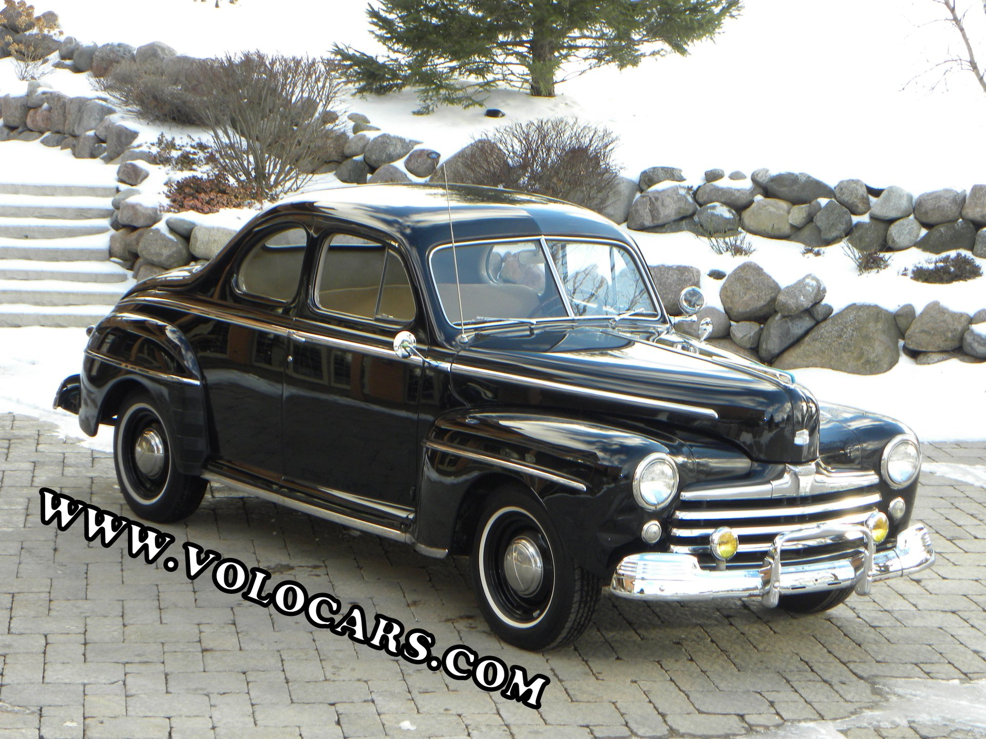 1948 ford deluxe 3 person coupe