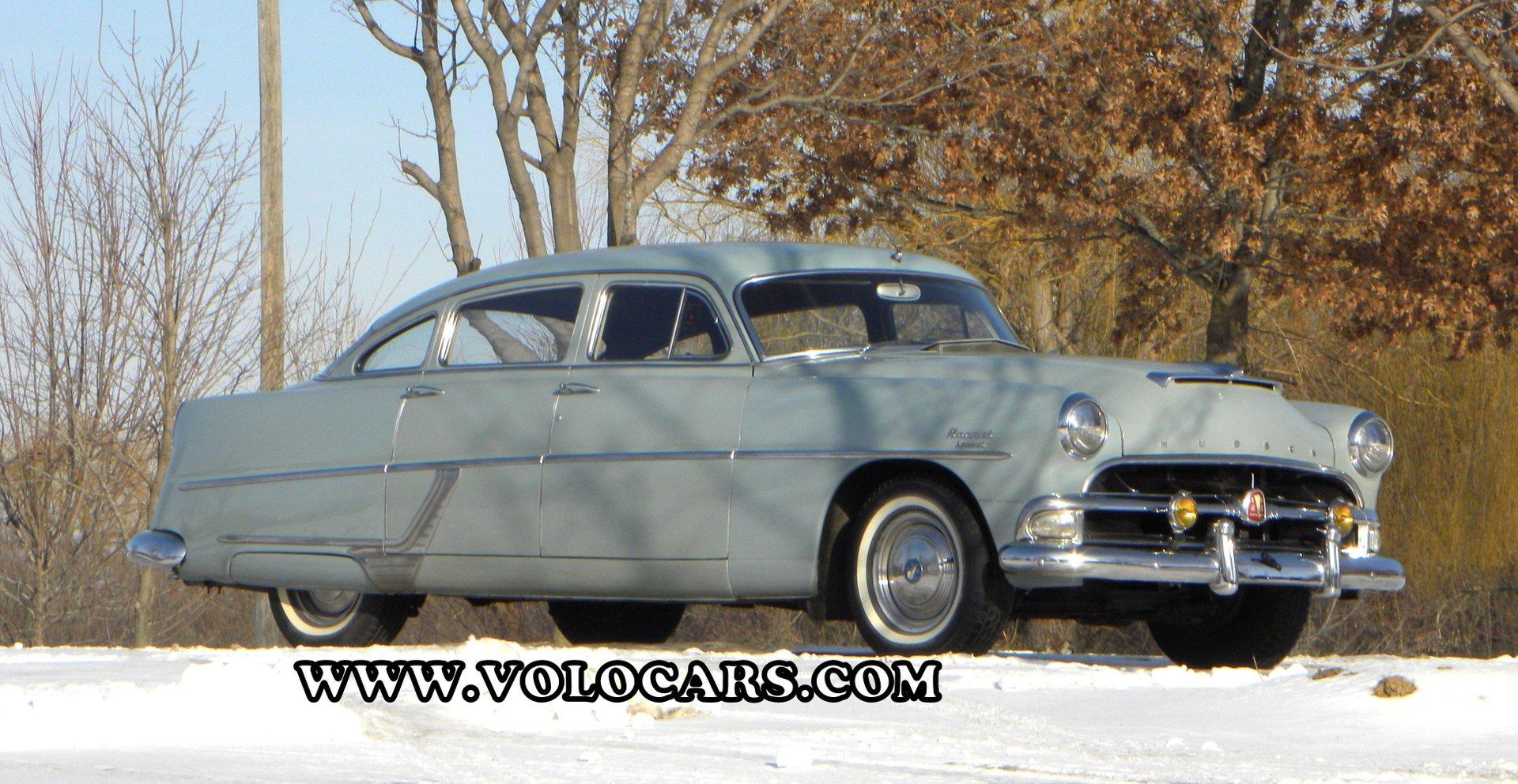 1954 hudson hornet 4 door sedan